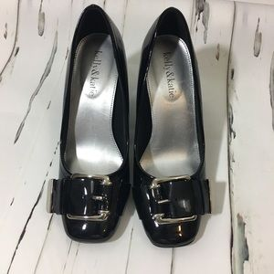 Kelly & Katie Black Patent Tracy Shoes